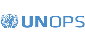 The United Nations Office for Project Services logo